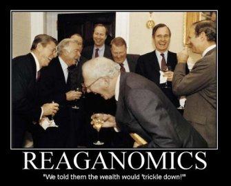 Reaganomics-trickledown